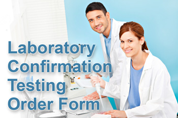 Order Laboratory Confirmation Testing